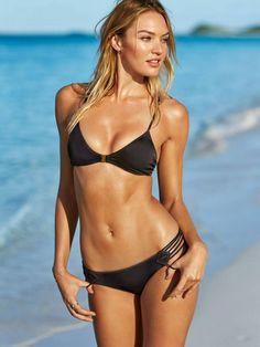 Candice Swanepoel for Victoria's Secret Swim March 2015 Lookbook