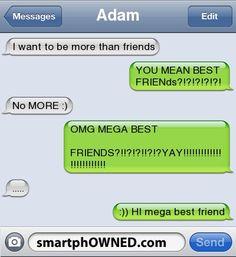 Friend zoned LIKE A PRO