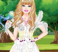 Barbie Beyaz Kuğ Modası