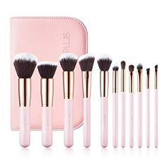 SIXPLUS Brush – The best liquid foundation brush for the money. Beauty Brushes, How To Clean Makeup Brushes, It Cosmetics Brushes, Beauty Dupes, Beauty Products, Best Liquid Foundation Brush, Makeup Tips Foundation, Drugstore Foundation, Makeup Brush Cleaner