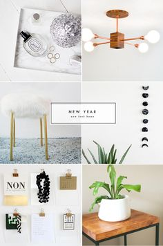 marble tray //copper statement light// faux fur stool// moon phase wall hanging// gold & perspex clipboards // ikea hack table Hello friends! There hasn't been a whole lot happening in this...