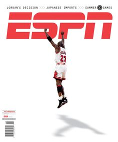 The Best ESPN The Magazine Covers - MAG 15: ESPN The Magazine's 15 Greatest Covers - http://espn.go.com/espn/photos/g... June 29, 1998 cover featuring Michael Jordan