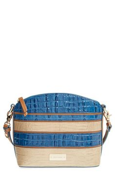 Brahmin 'Mini Duxbury' Embossed Leather Crossbody Bag available at #Nordstrom