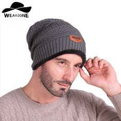 11.16$  Buy here - http://ali0nh.shopchina.info/go.php?t=32751286213 - 2016 Brand Beanies Knit Men's Winter Hat Caps Skullies Bonnet Winter Hats For Men Women Beanie Fur Warm Baggy Wool Knitted Hat 11.16$ #buyininternet