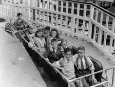 Manège du Park Belmont dans les années 60