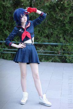 Ryuko Matoi - KILL la KILL Cosplayer - anzujaamu (anzujaamu) #cosplay