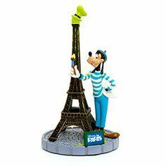 Disneyland Paris Kollektion - Goofy Eiffelturm Deko