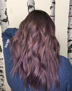 Hair Colour Dusty Lavender