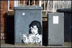 """""""Murales letterari"""" (imperdibili) su biblioteche e librerie di tutto il mondo - Il Libraio"""