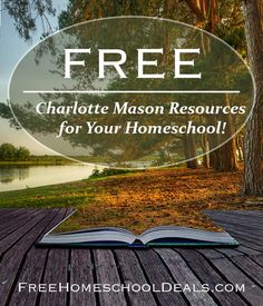 Free Charlotte Mason Resources for Your Homeschool