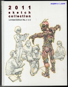 "Kim Jung-Gi - ""2011 sketch collection Limited Edition No.082"""