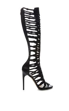 Athena High Heel Gladiator Sandals by Paul Andrew Now Available on Moda Operandi