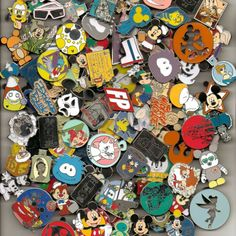 Disney Pin Trading Lot U Pick Size to purchase 25,50,75,100,125,150,200 MJB Disney Trading Pins, Disney Pins, Must Have Travel Accessories, Picture Show, Ebay