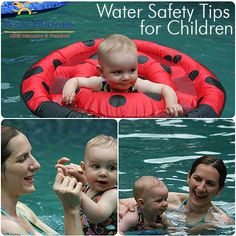 Water Safety Tips for Children.  Visit poolcoolers.com for more info on our ready-made, easy to install pool cooling systems!
