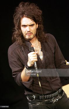 Russell Brand during Russell Brand 'Shame' Tour - November 2006 at City Varieties Music Hall in Leeds, Great Britain. Russell Brand, Leeds, Tours, Britain, November, City, Music, Pictures, Photos
