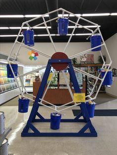 16 Awesome Ferris Wheel images   Big wheel, Ferris wheel, Pvc pipe on homemade pirate ship plans, homemade airplane plans, homemade skee ball plans, homemade swing plans, homemade car plans, homemade water slide plans,