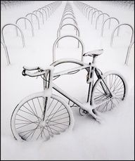 No bike riding today!