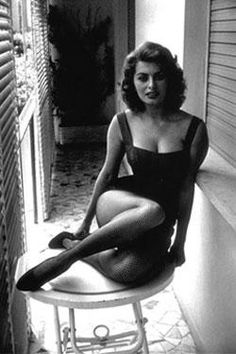 Sophia Loren (1934- ), Italian film actress, Born in Rome, Italy...Age is only a #, aging is a process of getting better...getting old is a life style in becoming a work of art.