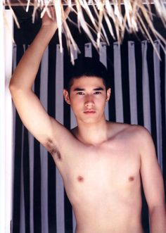 Thai actor, Mario Maurer.