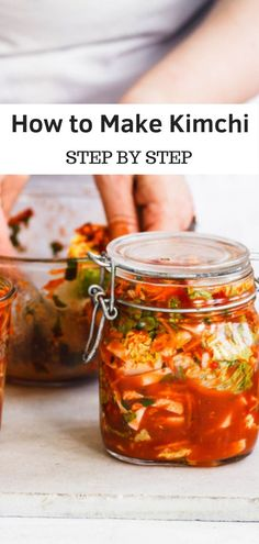 Kimchi is one of the most famous fermented foods. Here is a kimchi recipe for you to try. Fermented Cabbage, Fermented Foods, Fermented Honey, Fermentation Recipes, Canning Recipes, Homebrew Recipes, Beer Recipes, Clean Eating, Healthy Eating
