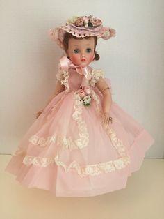 Forever My Girl, Madame Alexander Dolls, Vintage Dolls, Miniature, Flower Girl Dresses, Glamour, Plastic, Jewels, Wedding Dresses