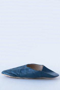domi indigo slippers