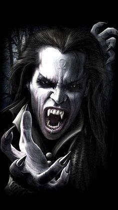 Vampire Love, Female Vampire, Gothic Vampire, Vampire Girls, Vampire Art, Vampire Hunter, Dark Gothic, Scary Vampire, Vampire Skull