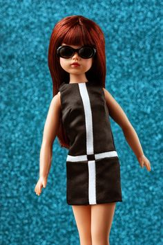 In her new iteration, created by Tonner Doll Company , The Doll You Love to Dress , boasts a high quality creamy matte vinyl, . Knit Dress, Dress Up, Fashion Models, Fashion Show, Sindy Doll, Pink Gingham, Cute Pink, Beautiful Dolls, Parisian