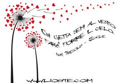 Chi getta semi al vento farà fiorire il cielo. Mandala, Murals, Sky, Hearts, Photos, Drawings, Bead, Mandalas