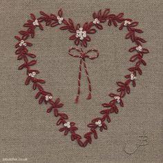 Mistletoe Heart