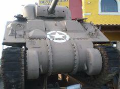 For Sale: World War II Sherman Firefly tank in a Rome scrap yard   World War II Social Place