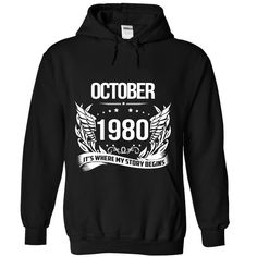 (Top Tshirt Choice) October 1980 at Tshirt Best Selling Hoodies, Funny Tee Shirts