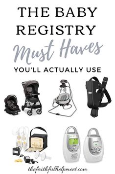 Amazon Baby Registry Must Haves - The Faithful Help Meet Baby Registry Must Haves, Baby Must Haves, Baby Registry Checklist, Gripe Water, Amazon Baby, Baby Sleepers, Thing 1, My Little Baby, Newborn Care