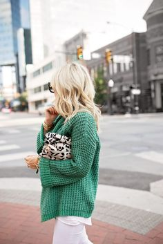 Free People Sweater, Spring Outfit Idea