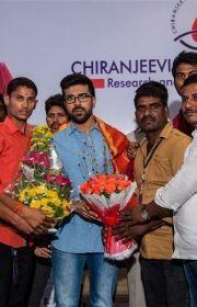 Chiranjeevi Ramcharan Pressmeet Images