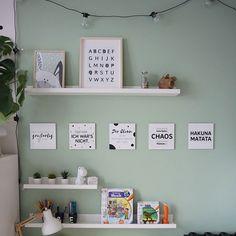 Kinderzimmer Ideen für kleine Zimmer für Jungen und Mädchen | mini-presents Blog Big Girl Rooms, Playroom, Kids Room, Sweet Home, Gallery Wall, Room Decor, House, Inspiration, Design
