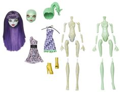 Monster High Create-A-Monster Mummy and Gorgon Girl Starter Set - Wave 3