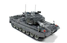 lego leapord tank