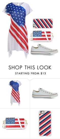 """""""Untitled #155"""" by bbynizzle ❤ liked on Polyvore featuring Converse, Chicnova Fashion and Casetify"""