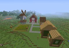 Home inspiration: extraordinary minecraft farmhouse ideas darts design com gorgeous farm house and from minecraft