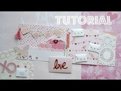 Flip Book//Snail Mail Tutorial & How To Easily Secure Your Washi Binding - YouTube