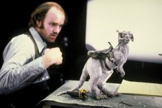 """It'll freeze before you hit the first marker. """"Phil Tippett working on Episode V. Awesome."""""""