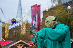 Southbank Christmas Market, review and info from Backpacks and Suitcases blog.