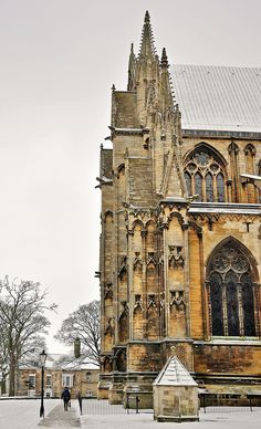 "wanderthewood: "" Lincoln Cathedral, Lincolnshire, England by benbobjr "" Gothic Architecture, Beautiful Architecture, Beautiful Buildings, Beautiful Places, Lincoln Cathedral, Cathedral Church, Cool Places To Visit, Places To Travel, Lincoln England"
