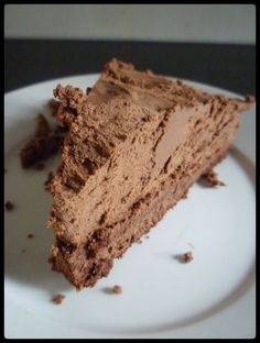 Chocolate Truffle Torte {recipe}