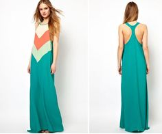 Maxi Dresses - Green Maxi Dresses and Gowns 2015 - Casual - Party