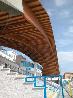 """Miramare"" Stadium Grandstand in Manfredonia  (I)"