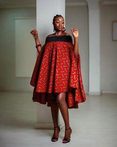 The Sese – Ankara Stream African Fashion Ankara, Latest African Fashion Dresses, African Print Fashion, Short African Dresses, African Print Dresses, Ankara Dress Styles, African Print Clothing, Poncho, African Attire