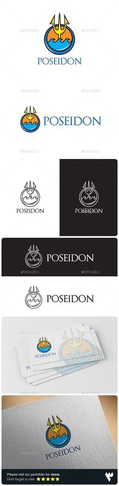 Poseidon Logo - Objects Logo Templates