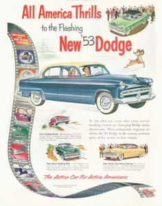 171 best dodge 1950 1955 images on pinterest antique cars 1953 dodge coronet 4 door sedan publicscrutiny Choice Image